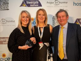 Local hospice recognised in national care awards