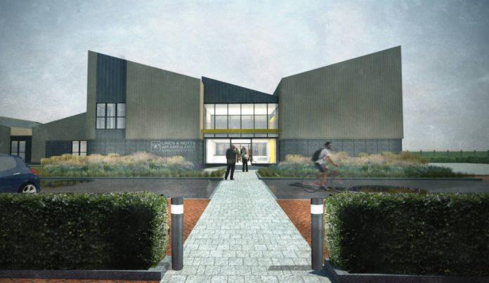 Green light for Lincs & Notts Air Ambulance's new HQ