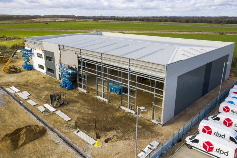 DHL Parcel pre-let unit at Lincoln industrial scheme