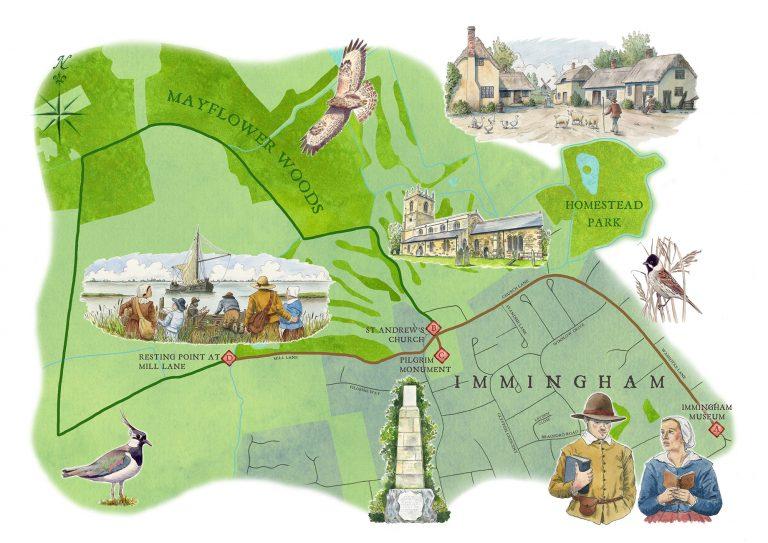 Immingham opens new Pilgrim heritage trail to the public