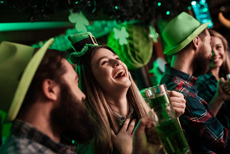 Get your green on – St Patrick's day celebration stats unveiled for 2020