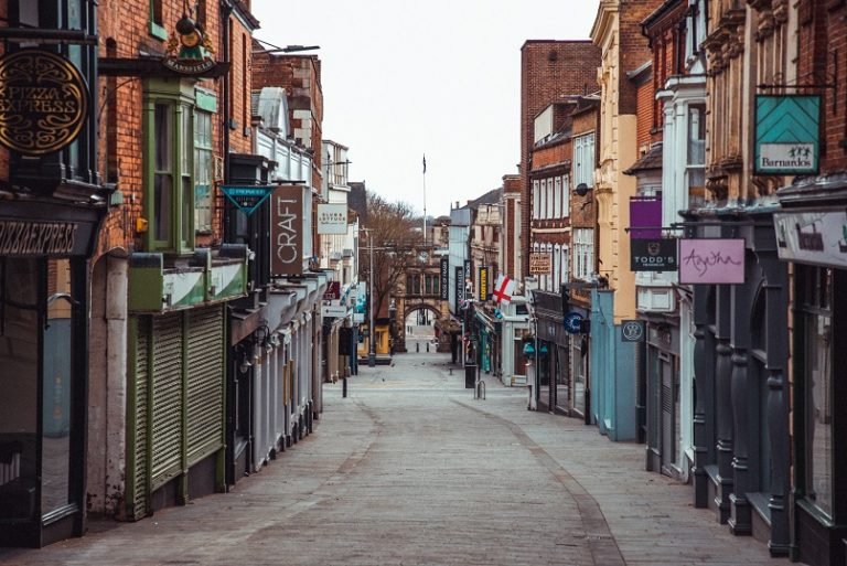 See the eerie streets of Lincoln amidst the COVID-19 crisis