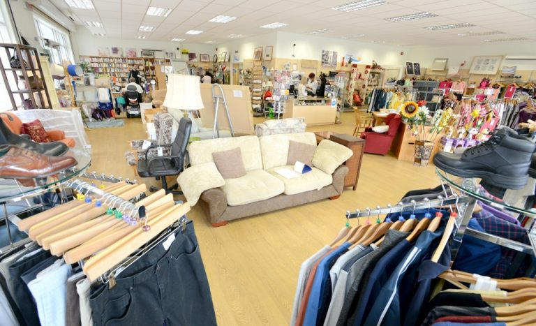 St Barnabas Hospice outlines plans to open charity shops
