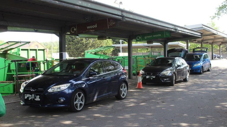 Over 2,000 cars flock to Lincolnshire recycling centres