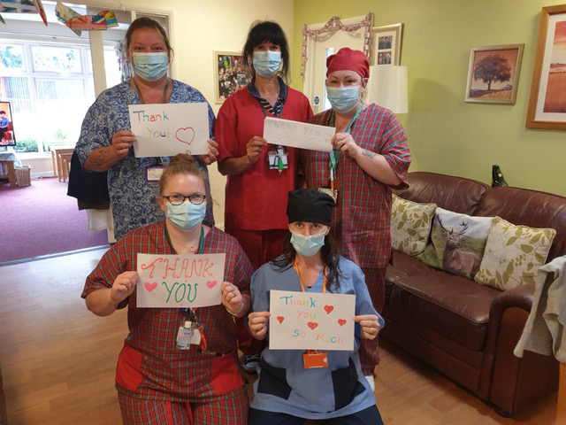 Local sewers support NHS with scrub initiative