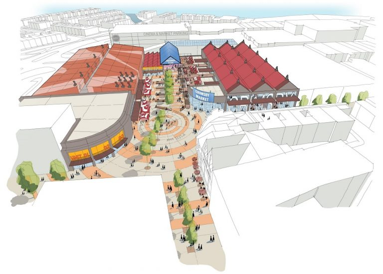 Transformation plans unveiled for Grimsby's town centre
