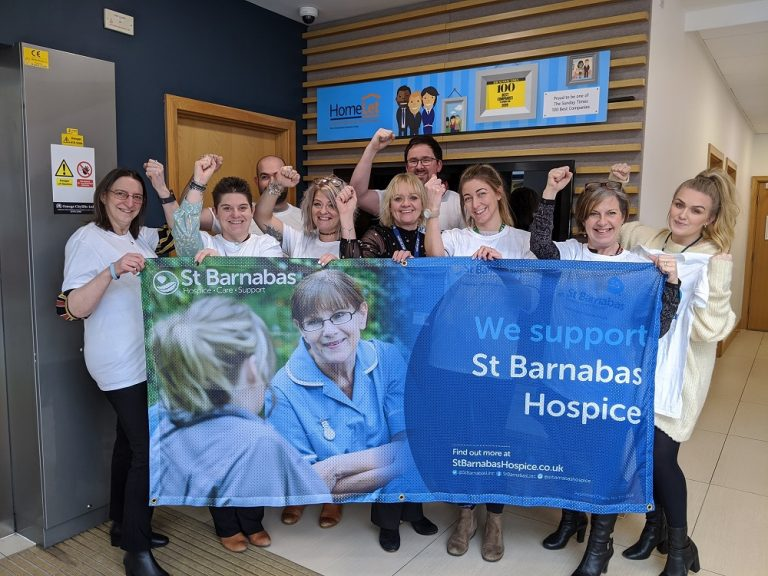 Two charity awards for St Barnabas Hospice