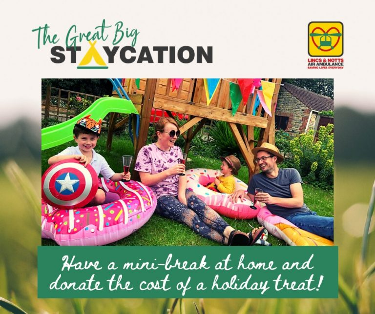 Celebrate the summer with LNAA's Great Big Staycation