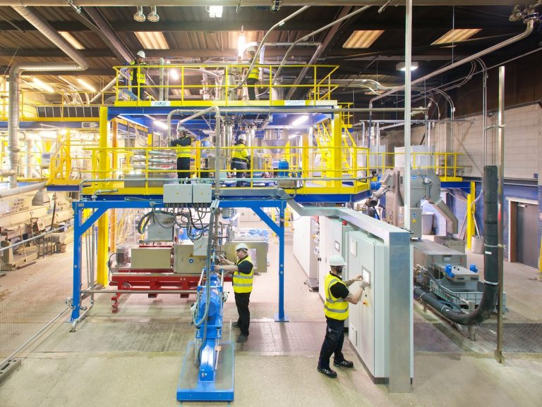 Seven-figure funding package secures jobs at Lincs plastics recycler