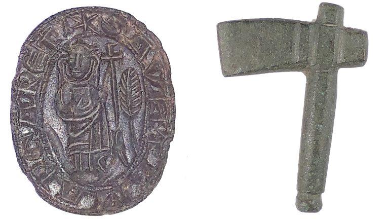 Lockdown sees rare medieval seal matrix and Bronze Age flint arrowhead found