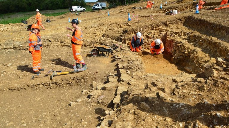 Grantham Southern Relief Road uncovers thousands of years of history