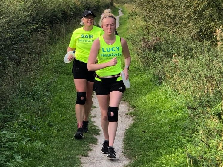 Marathon effort sees mother, daughter duo raise funds for charity