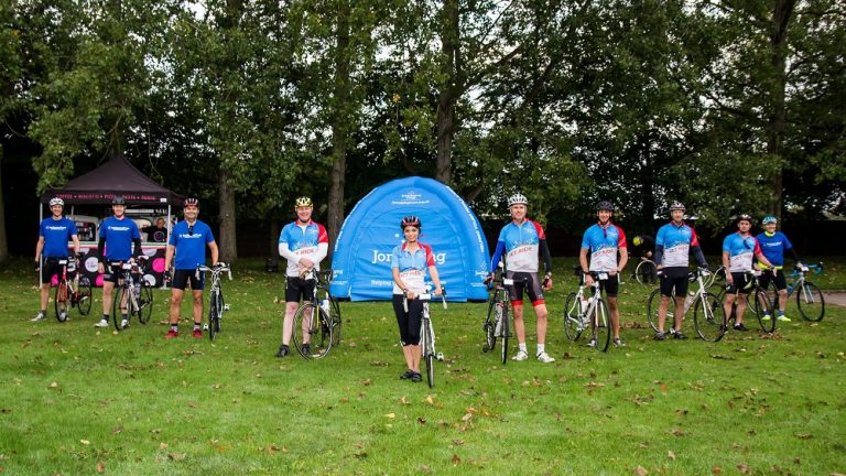 Jon Egging Trust supports young people with charity bike ride
