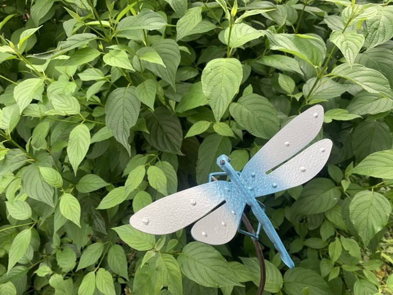 Handcrafted dragonflies to be displayed in memory of loved ones