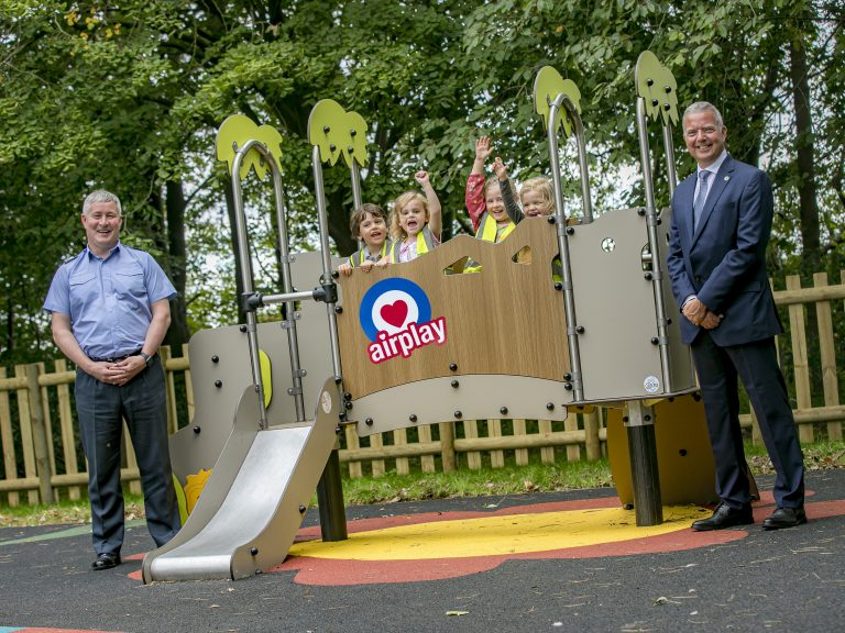 RAF College Cranwell reopens play parks following £80K refurbishment