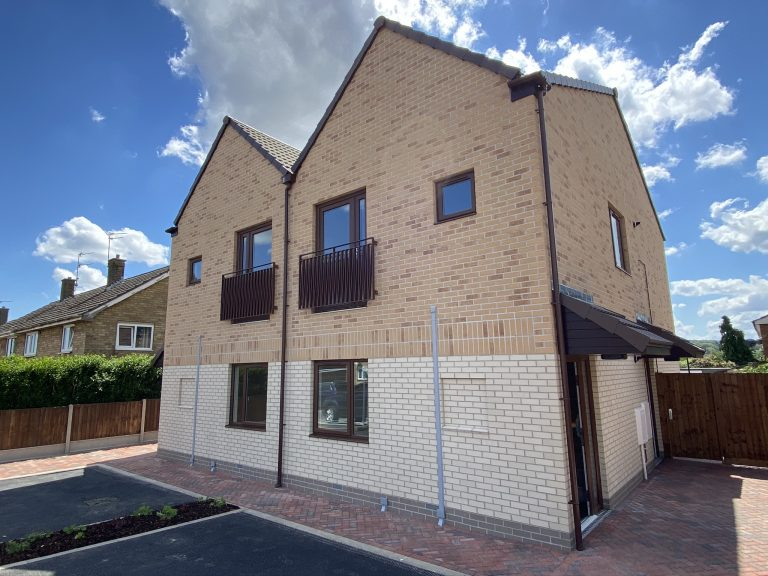 Modular housing scheme completes in Lincolnshire