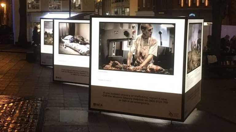 Anti-slavery exhibition on display this week in Lincoln