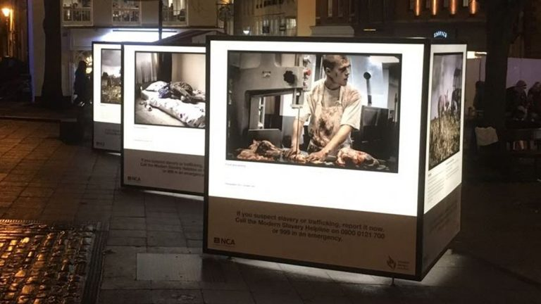 Lincoln to host haunting exhibition as part of Anti-Slavery Day