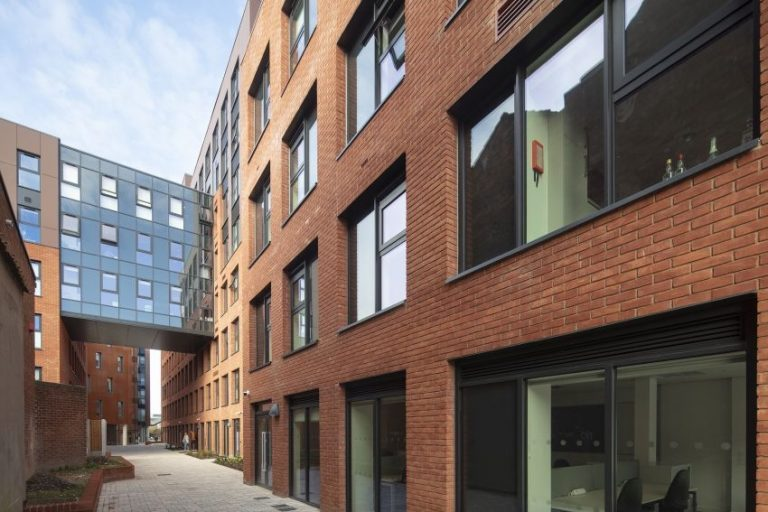8-storey student accommodation development completes in Lincoln