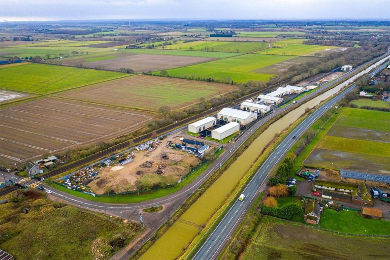 Construction begins on new phase at business park near Lincoln