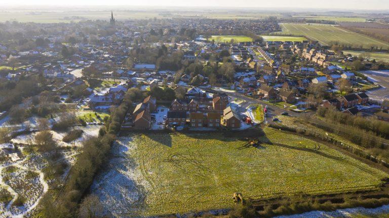 Work starts on new Heckington homes