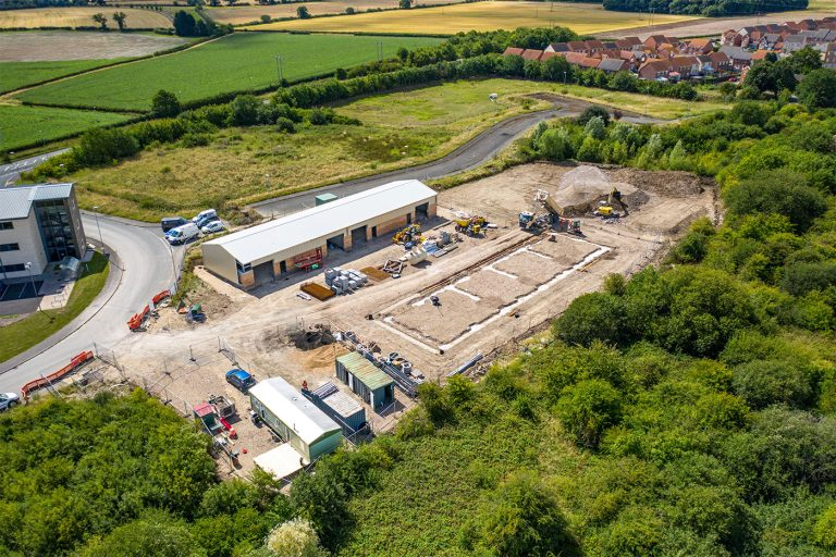 Construction starts on additional employment space at Gainsborough business park