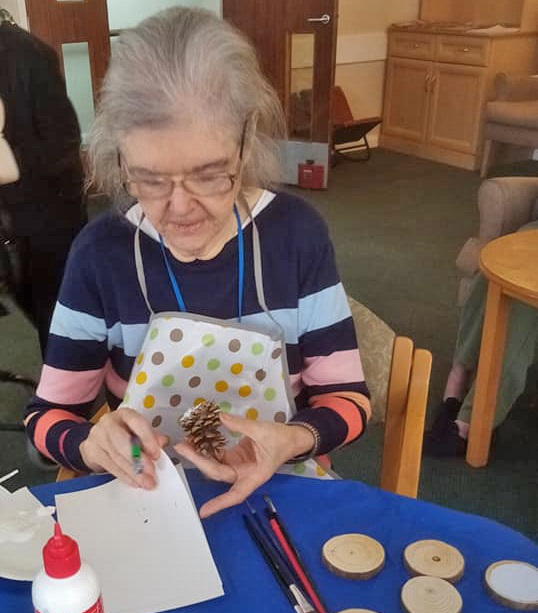 Spring is in the air at Ruckland Court Care Home