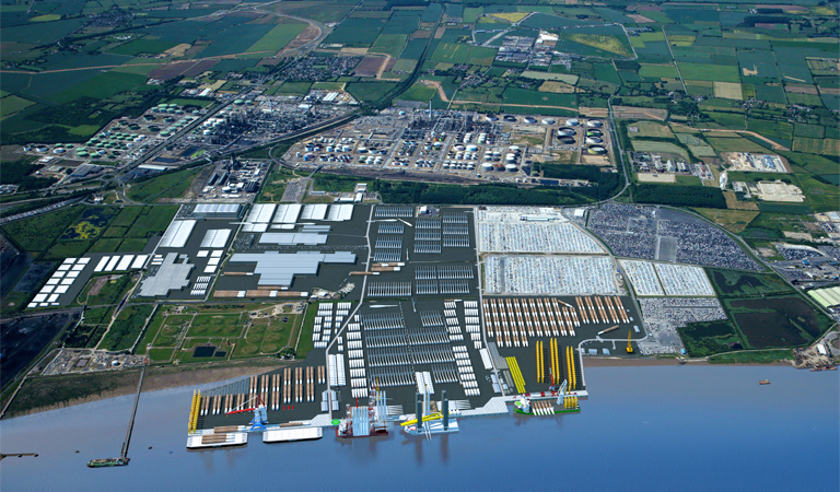 Cash boost for deep water quay development at Killingholme