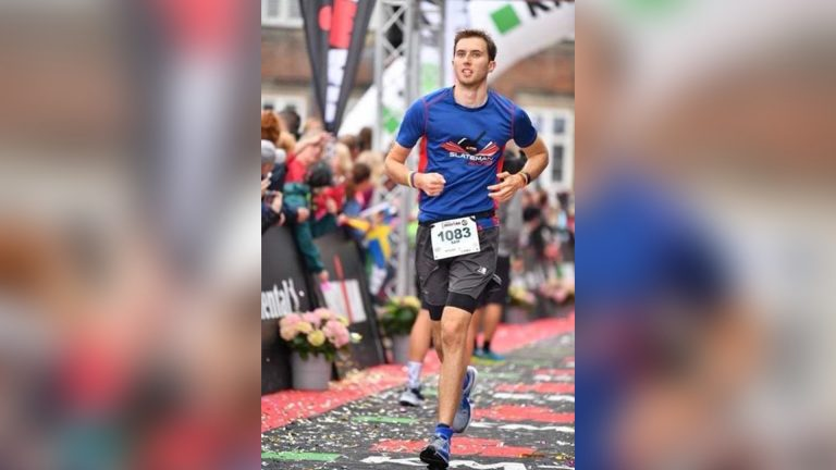 7 marathons in 7 days see Sam raise over £30,000 for charity