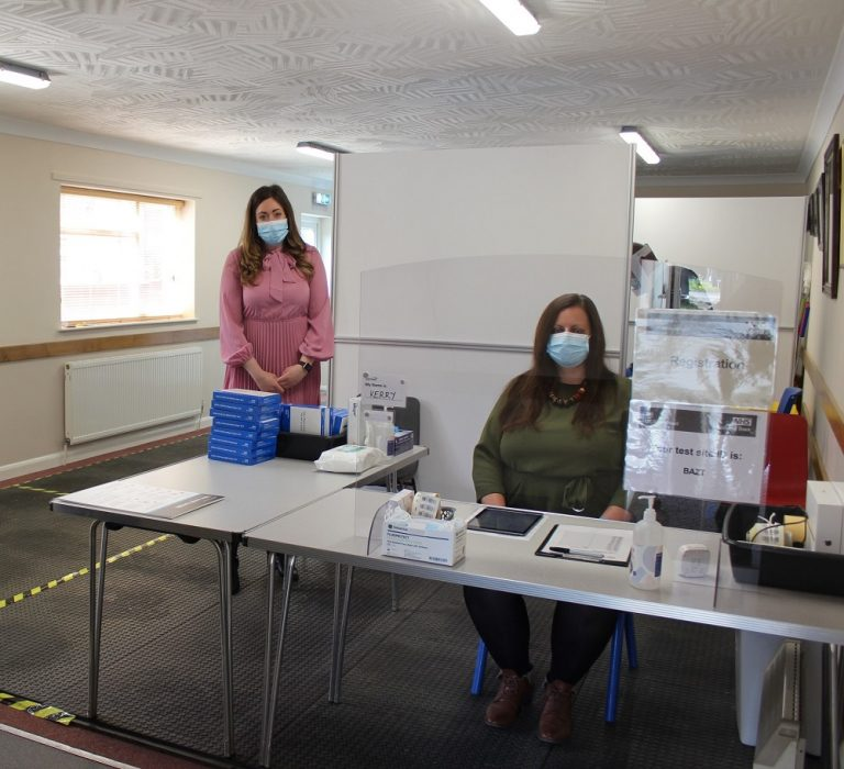 Testing centre in West Lindsey now open fully for supervised COVID testing