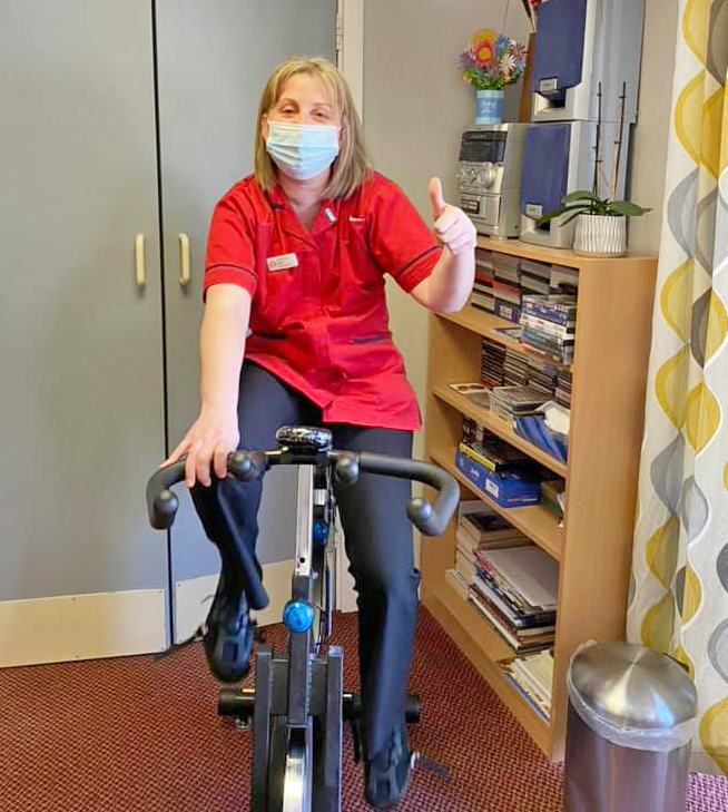 Neale Court Care Home joins Captain Tom 100 charity challenge