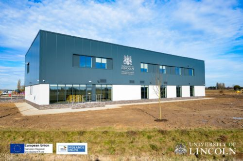 Construction complete on Lincolnshire agri-food research facility
