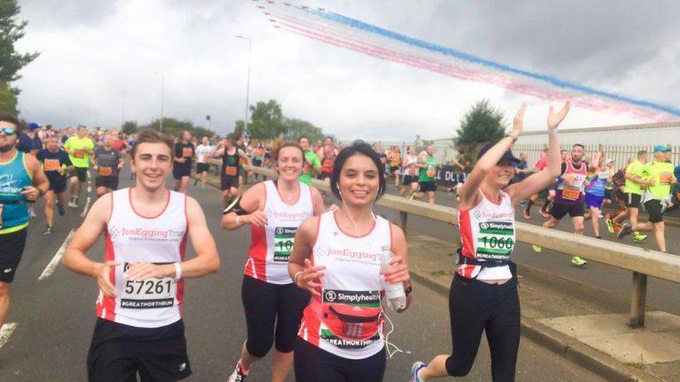 Jon Egging Trust founder completes ultramarathon to mark charity's 10th anniversary