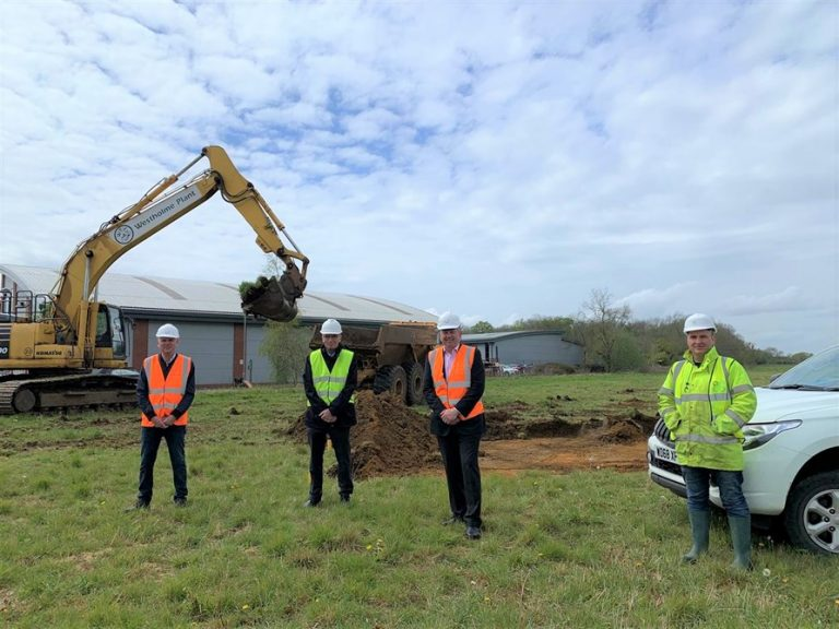 Archaeology work begins ready for new business park