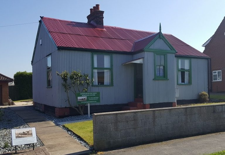 Immingham Tin Town Heritage Centre is open to visitors