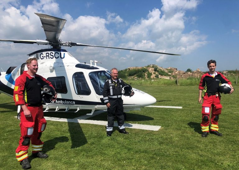 Lincs & Notts Air Ambulance launch second helicopter