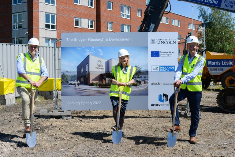 University of Lincoln breaks ground on new research facility