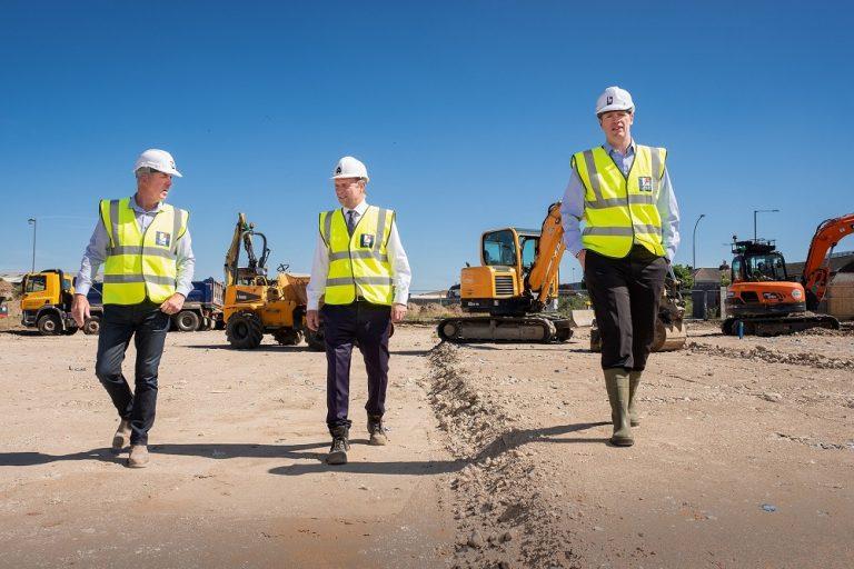 Construction begins on new era for landmark Grimsby site