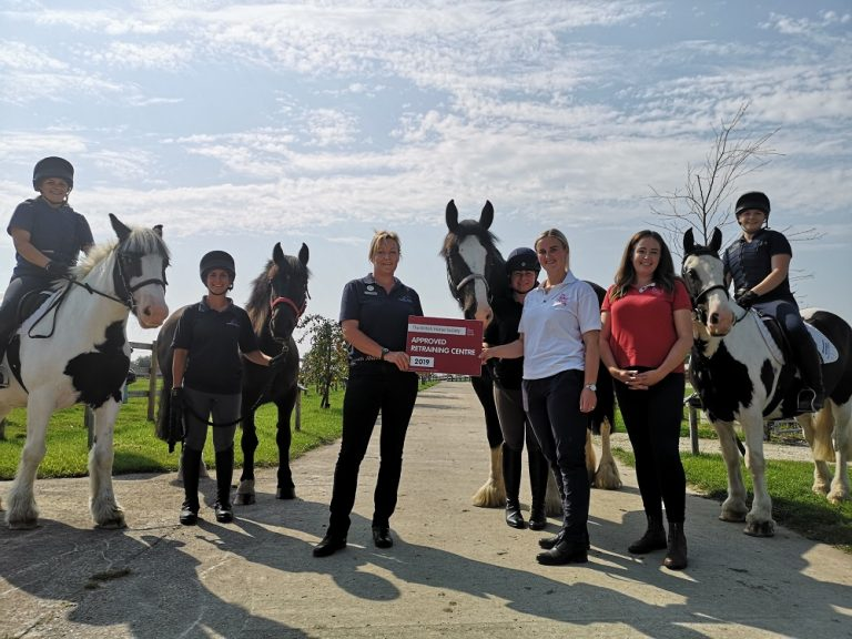 Outstanding Lincolnshire horse rescue charity wins BHS Welfare Award