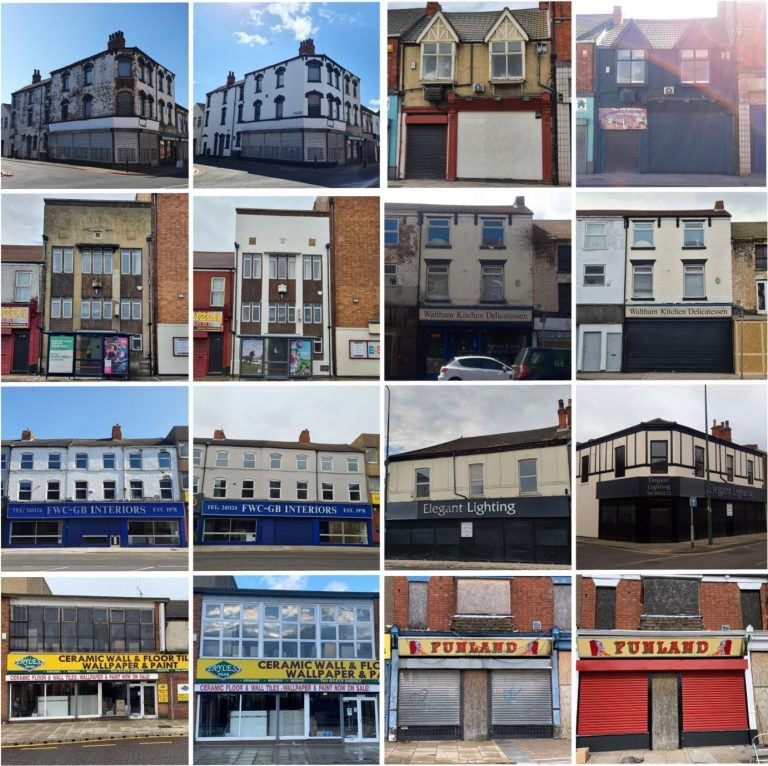 Buildings fixed up along gateway route through Grimsby and Cleethorpes