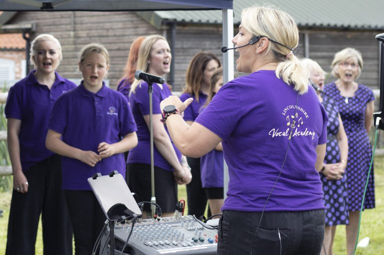 Bransby Horses and Lincs Vocal Academy perform smash Broadway hit