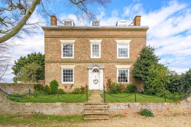 Step inside this fashionable former farmhouse