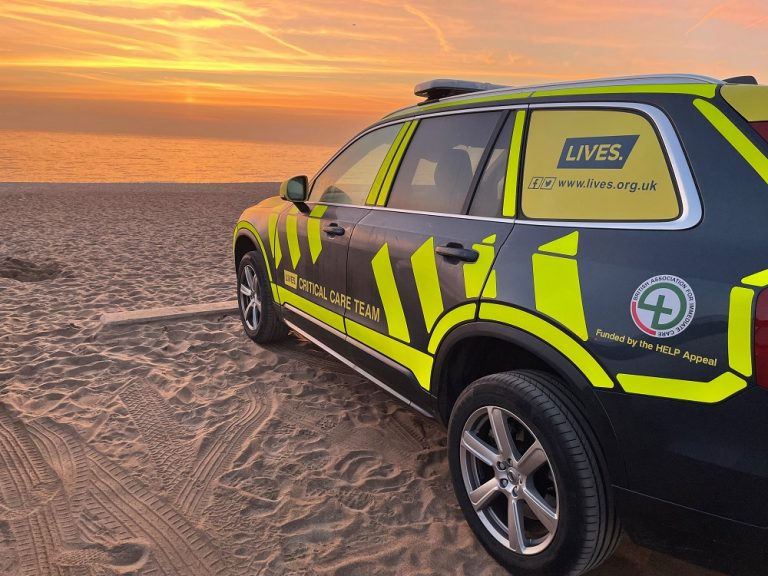LIVES launch new Critical Care Car service